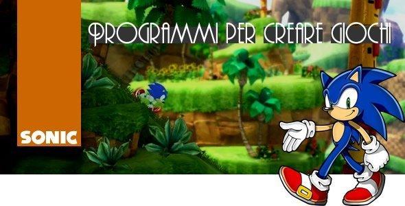 Programmi per creare giochi for Programma per creare