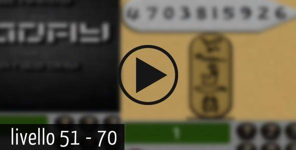 100 codes 51 70