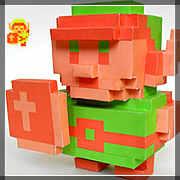 Zelda Papercraft Link 8 bit