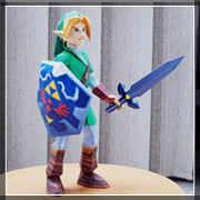 Zelda Papercraft Link