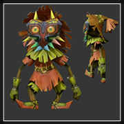 Majora's Mask Skull Kid Papercraft