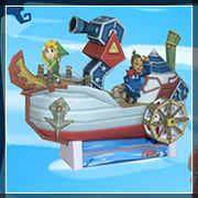 Zelda Papercraft SS linebeck