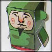 tingle papercraft