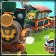 Treno dello Spirito Zelda Wind Waker Papercraft