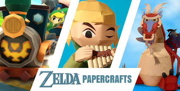 zelda papercrafts