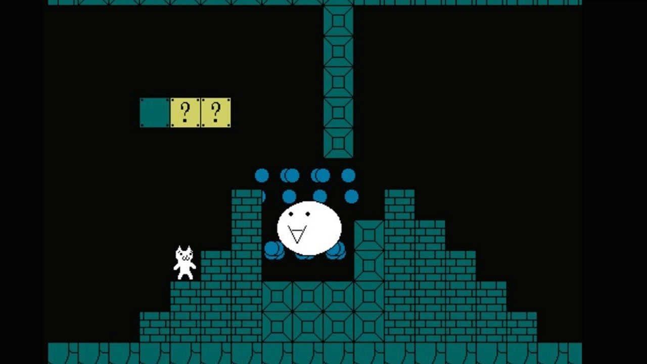Cat Mario underground